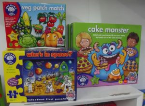Children's games by Orchard Toys