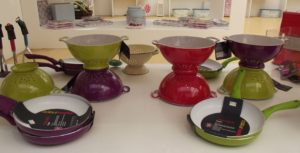 Colourworks kitchenware - colanders and pans