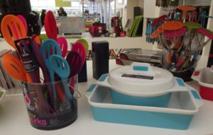 Colourful kitchenware gifts