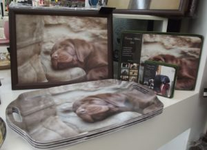 Labrador trays and placemats