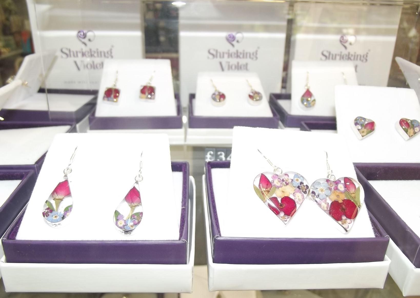 Shrieking Violet jewellery