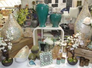 Vases, bowls and frames