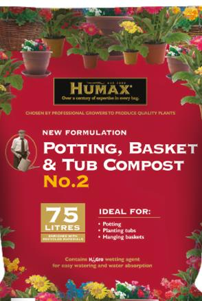 Humax Potting, Basket & Tub Compost