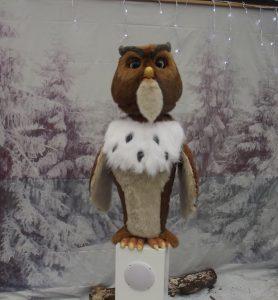 Trevena Cross Christmas Talking Owl