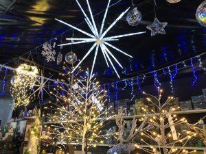 Light tunnel - Trevena Cross shop