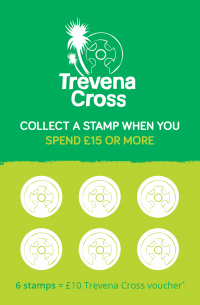 Trevena Cross loyalty card front