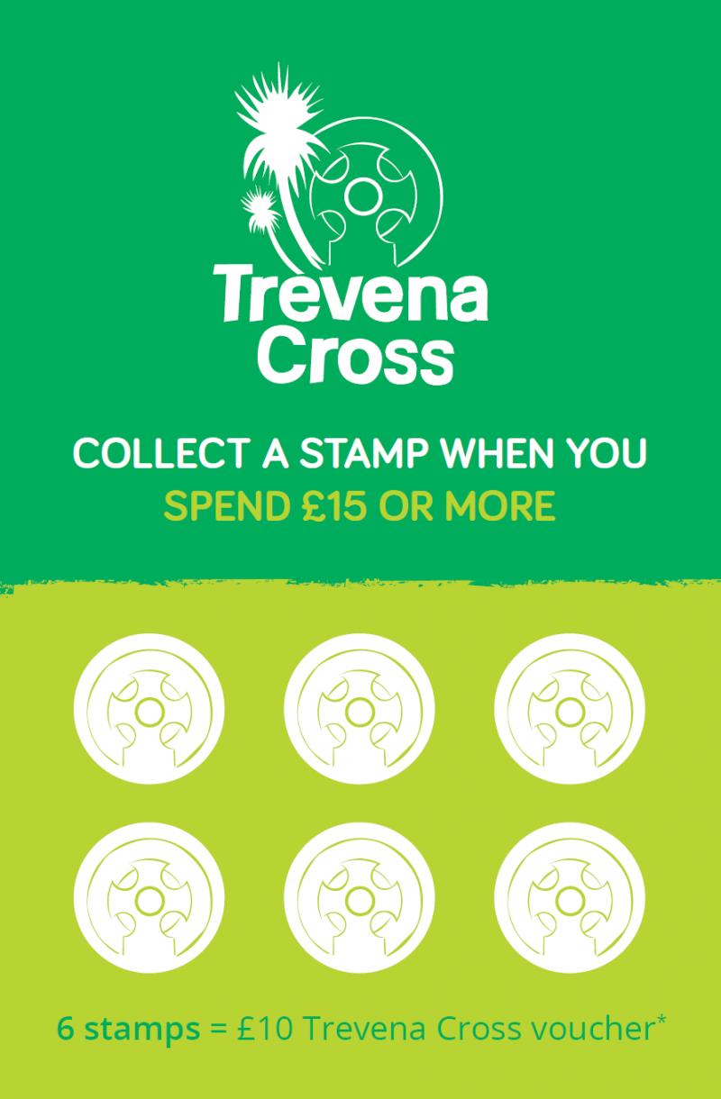 Trevena Cross loyalty card front