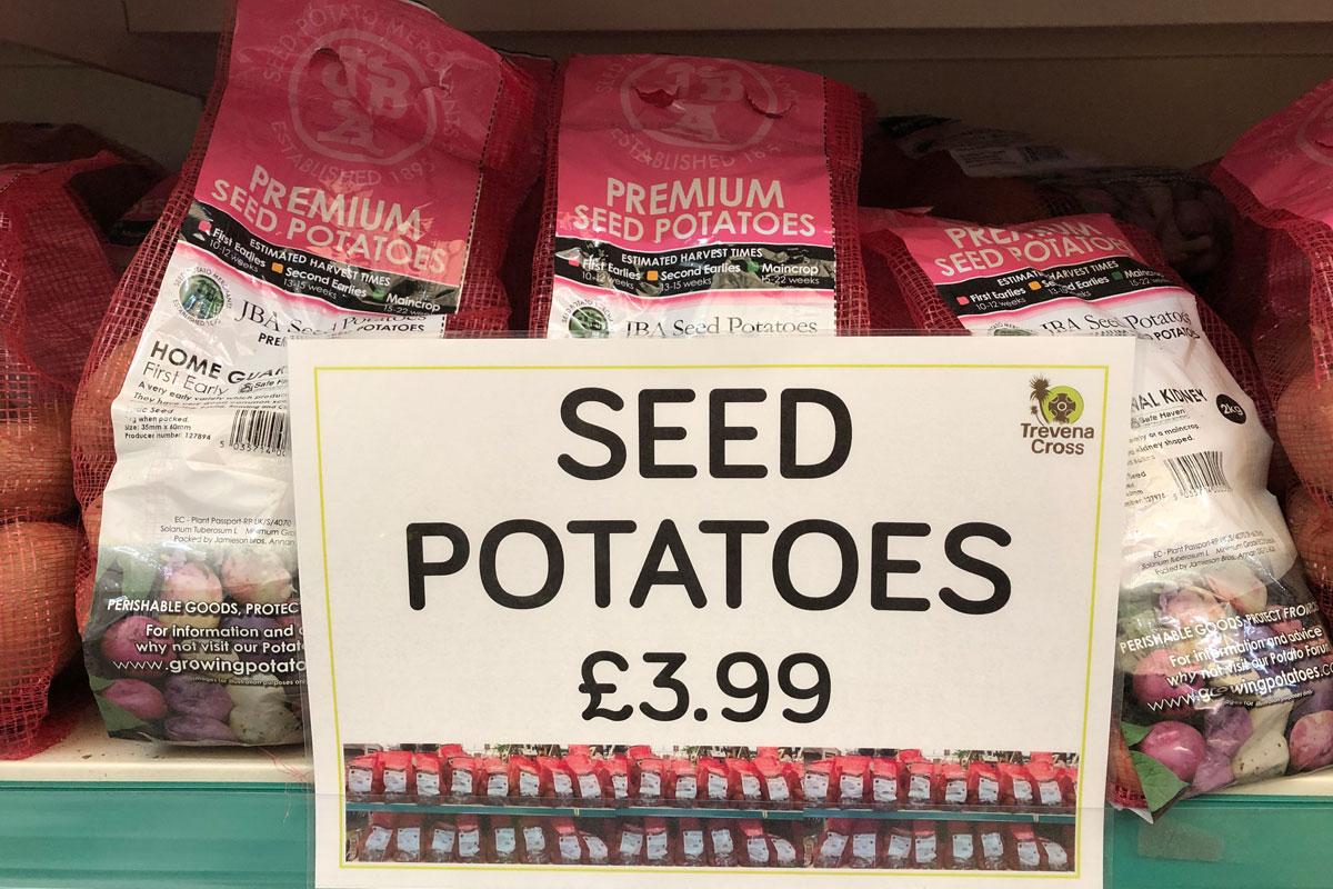 Seed Potatoes £3.99
