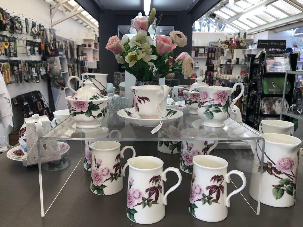 Teaset - tableware at Trevena Cross