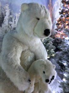 polar bears in grotto - Trevena Cross