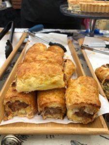 sausage rolls - Cath's Cornish Kitchen - Trevena Cross