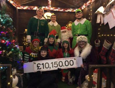 Trevena Cross Elves with Father Christmas in the Grotto