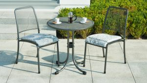 Alexander Rose Portofino Bistro Set - garden furniture at Trevena Cross