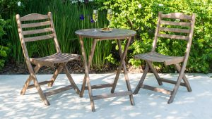 Alexander Rose Sherwood Tea for Two Set - garden furniture at Trevena Cross