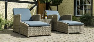 Katie Blake Sandringham - Reclining Set garden furniture at Trevena Cross