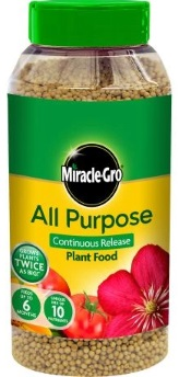 Miracle Gro All Purpose Continuous Realease Plant Food