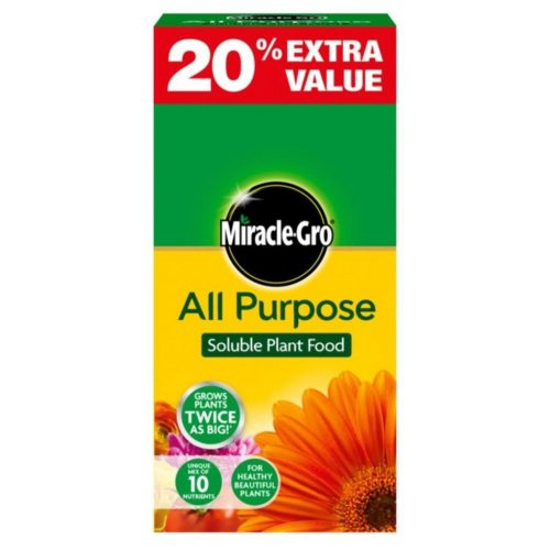 Miracle Gro All Purpose Soluble Plant Food 20% extra value