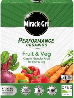 Miracle-Gro Performance Organics Fruit & Veg Granular Food