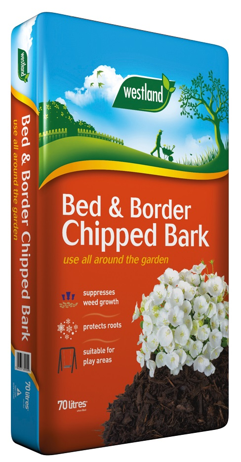 Westland bed-and-border-chipped-bark 70l