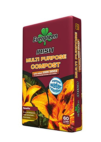 Evergreen multipurpose compost with added John Innes