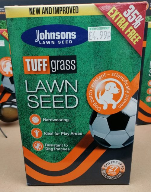 Johnsons Tuffgrass Lawn Seed 675g
