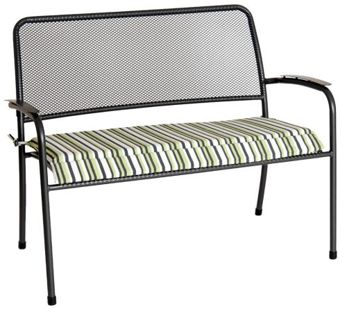 Portofino bench with cushion