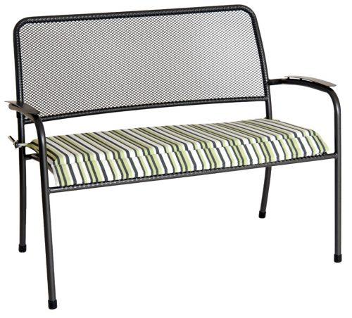 Portofino bench with cushion