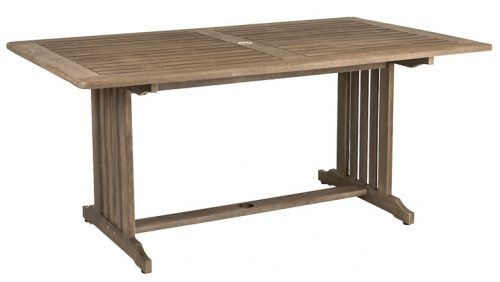 Rectangular Table 1.65 x 1m