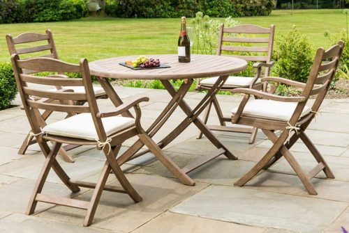 Sherwood Four Seat Table (1.1m) Set