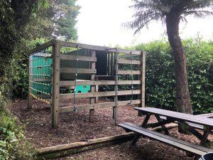 Children's play area at Trevena Cross