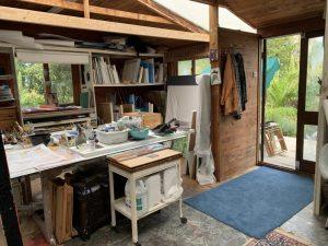 Rachel Jeffery's Art Studio