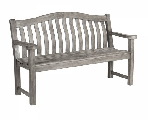Grey painted turnberry bench (5ft)
