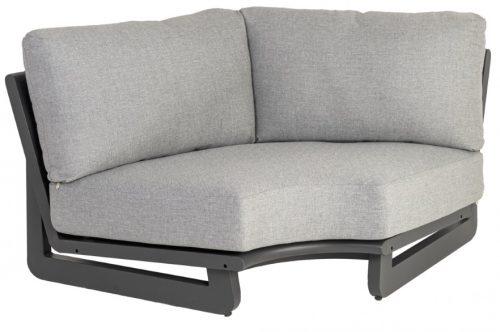 Rimini corner sofa with cushion
