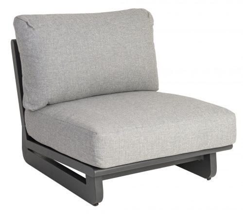 Rimini mid-sofa with cushion