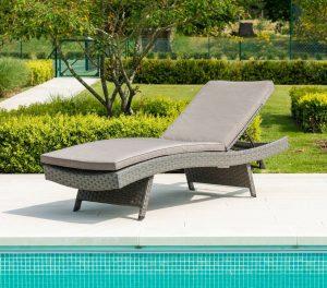 Cornish Riviera Adjustable Sunbed