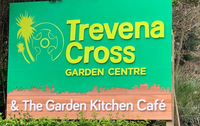 Trevena Cross Road Sign