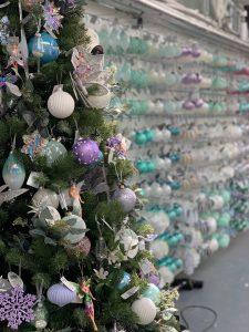 Tree and baubles Trevena Cross Christmas Shop